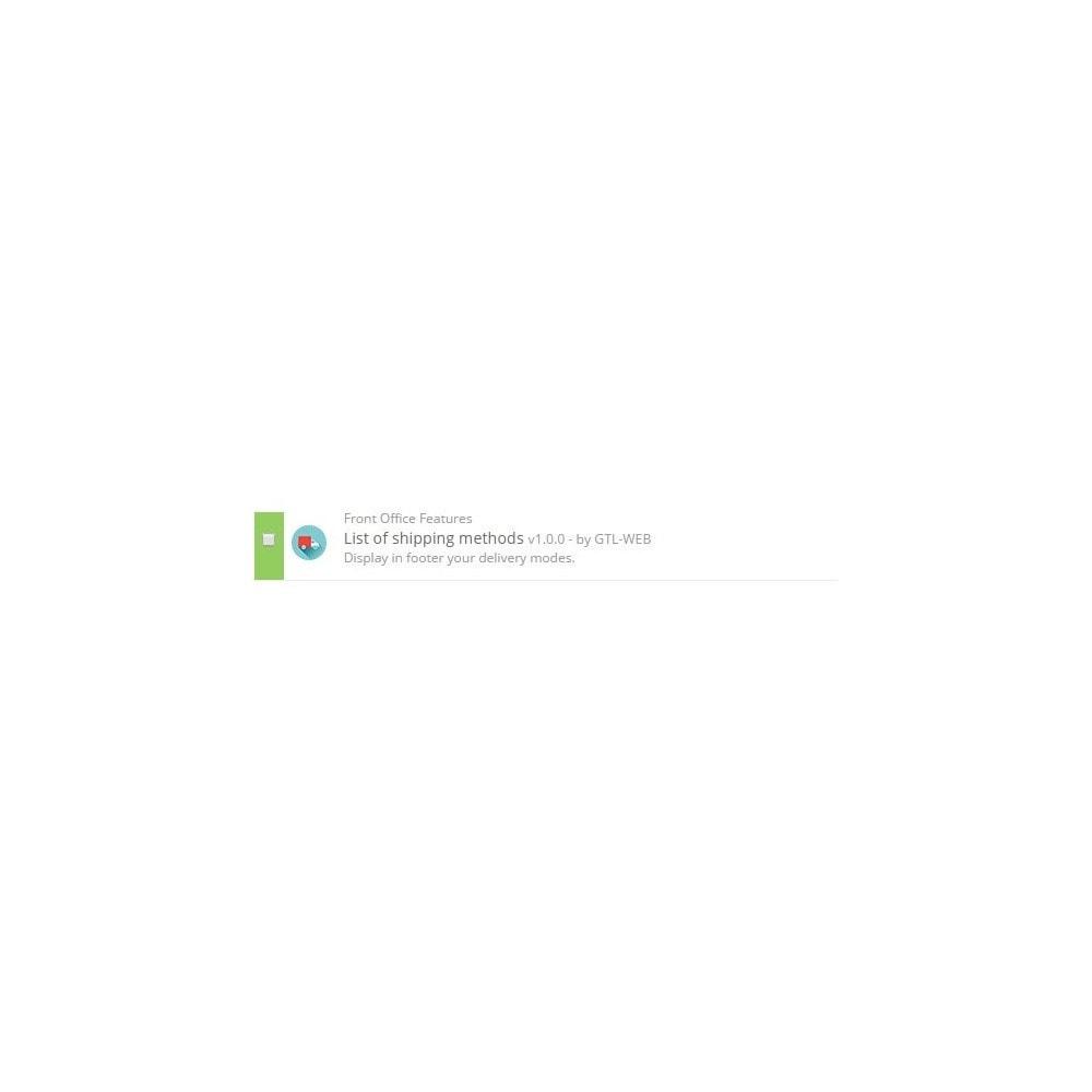 module - Emblemas e logotipos - Logos des modes de livraisons - 2