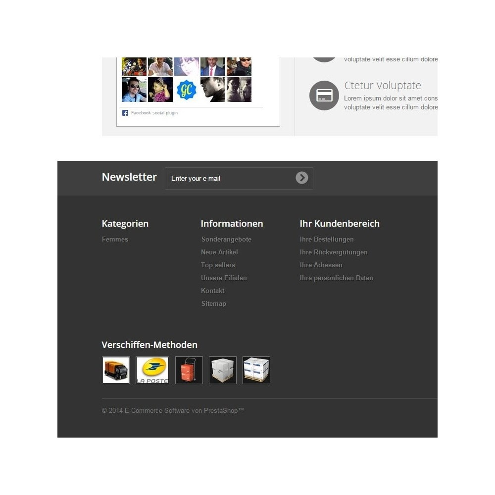 module - Badges & Logos - Logos Lieferungen Modi - 1