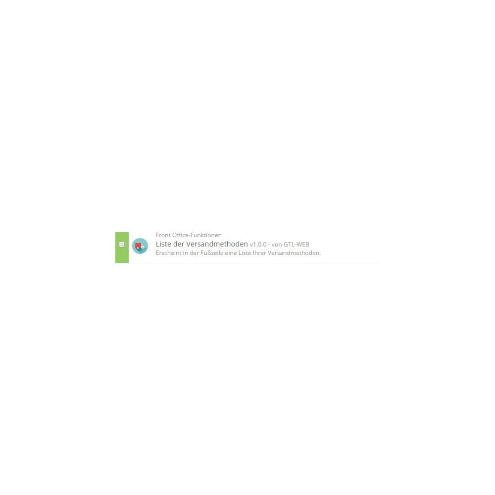 module - Badges & Logos - Logos Lieferungen Modi - 2