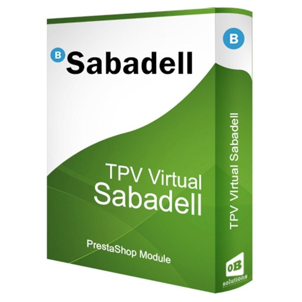 module - Pago con Tarjeta o Carteras digitales - BANCO SABADELL TPV COMPLETO (Pago seguro +devoluciones) - 1