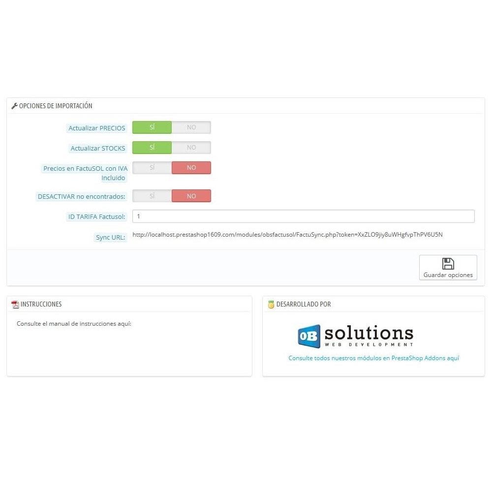 module - Datenabbindungen zu Drittsystemen (CRM, ERP, ...) - Basic FactuSOL Connector - 3