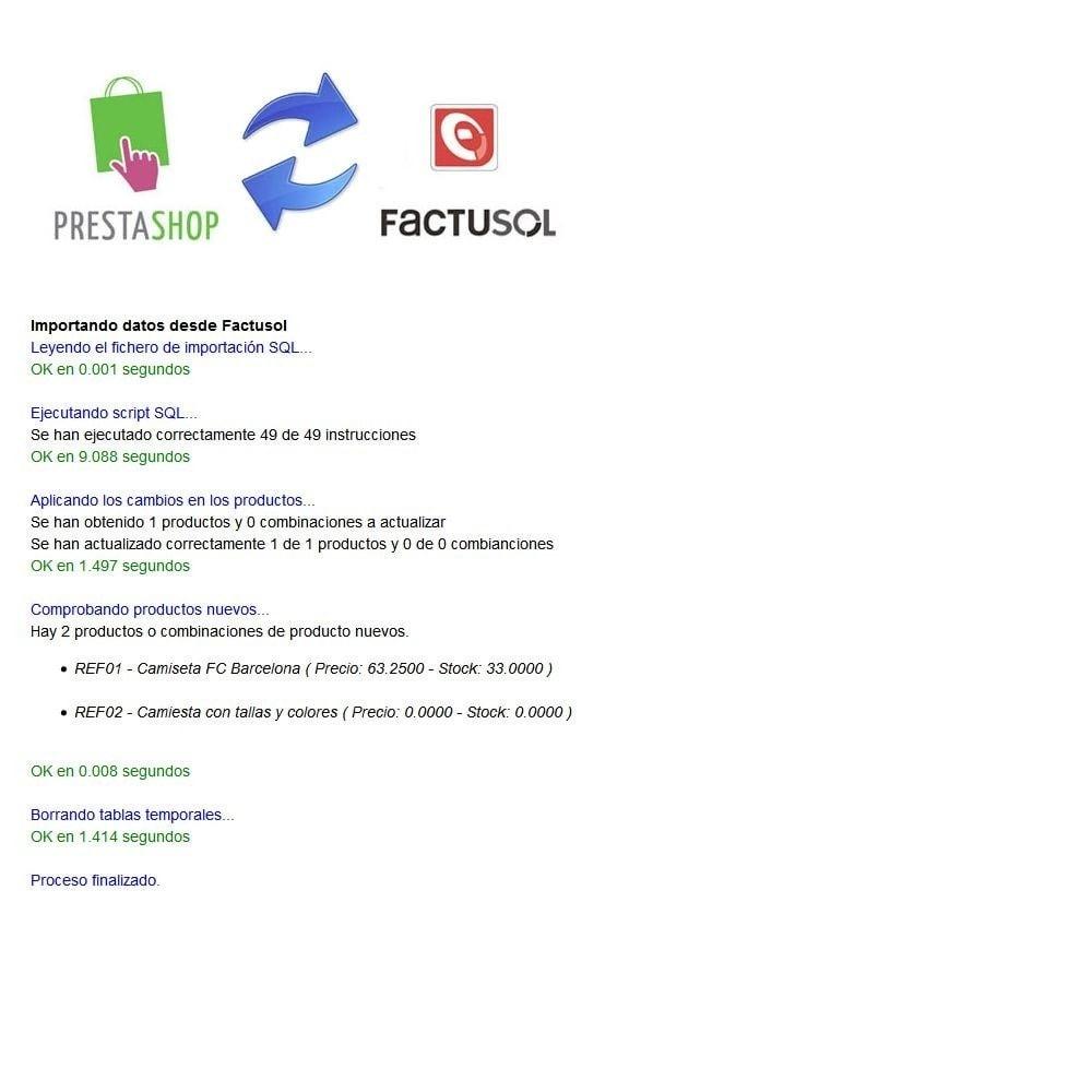 module - Third-party Data Integration (CRM, ERP...) - Basic FactuSOL Connector - 5
