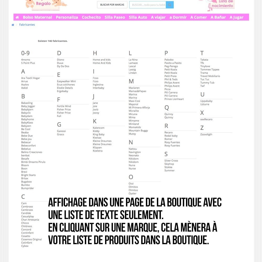 module - Recherche & Filtres - Moteur de recherche alphabétique de marques (fabricant) - 11