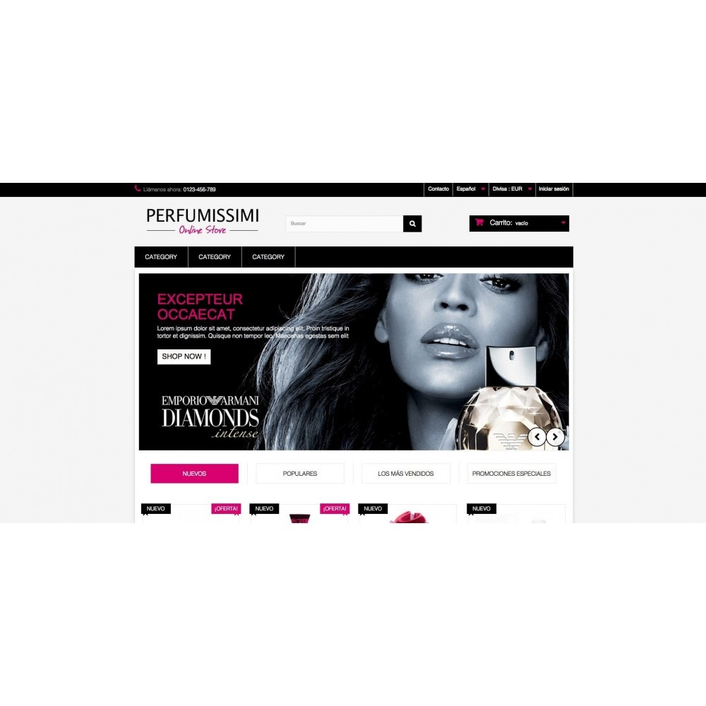 theme - Health & Beauty - Perfumissimi Online Store - 2