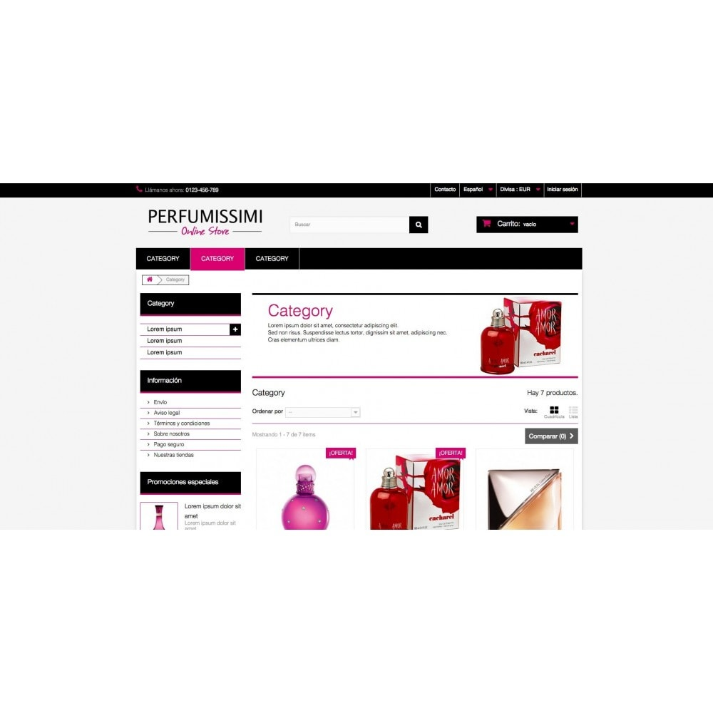 theme - Zdrowie & Uroda - Perfumissimi Online Store - 5