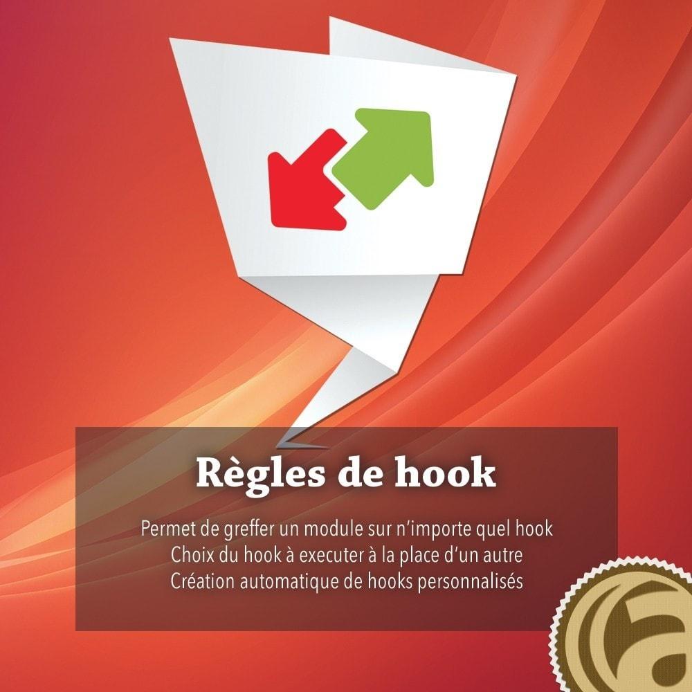module - Outils d'administration - Règles de hook - 1