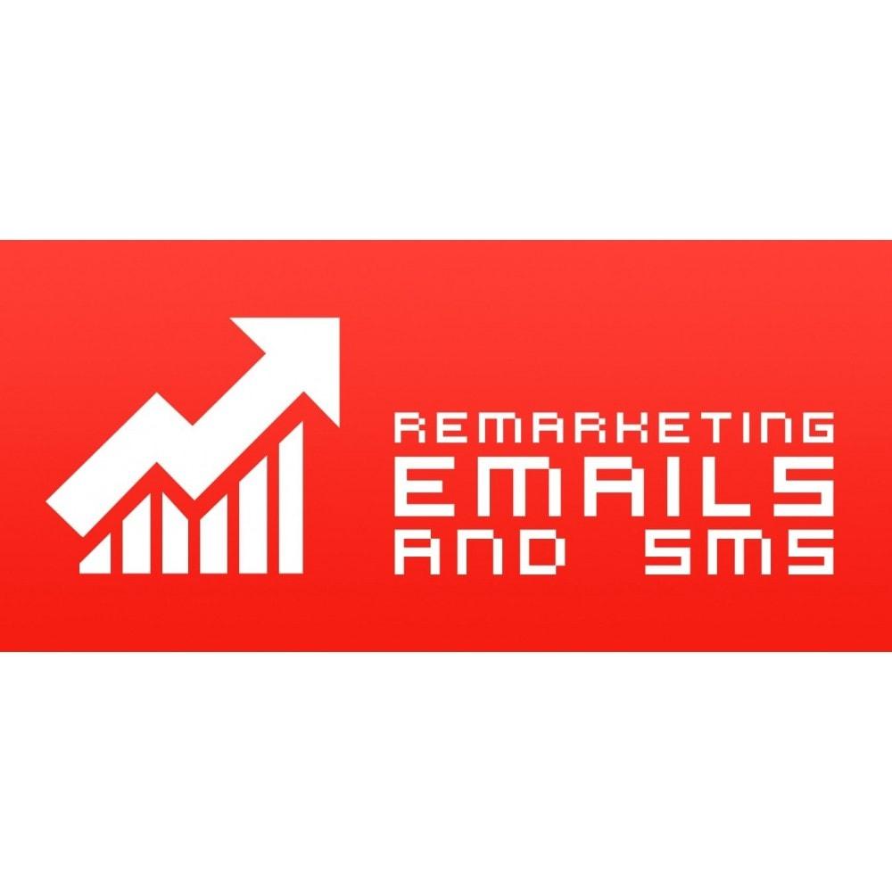 module - Remarketing & Compras abandonados - Remarketing Emails e SMS - 1