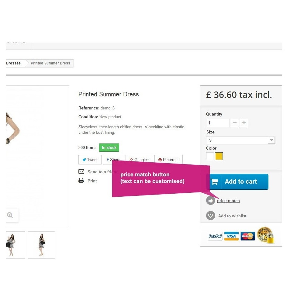 module - Gestão de preços - Product Price Match - 1
