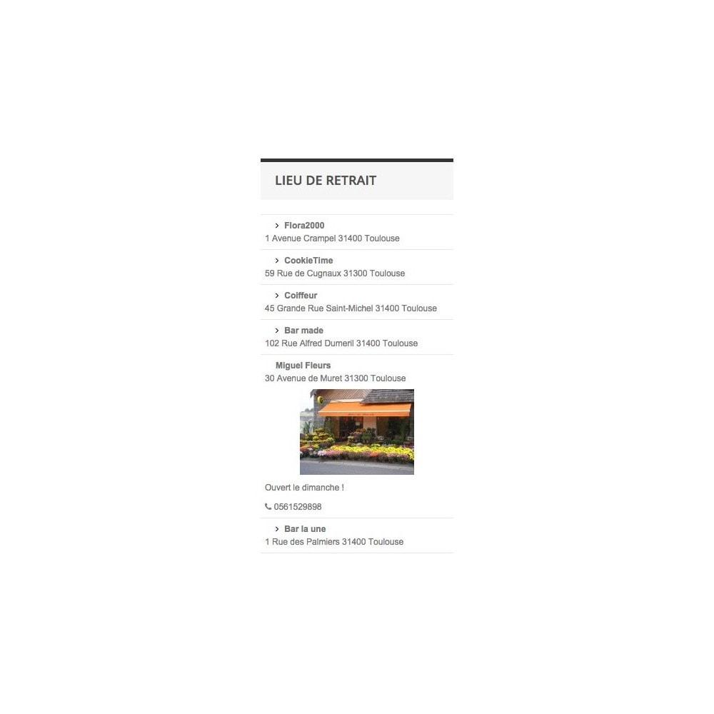 module - Point Relais & Retrait en Magasin - myCollectionPlaces v2 - 3