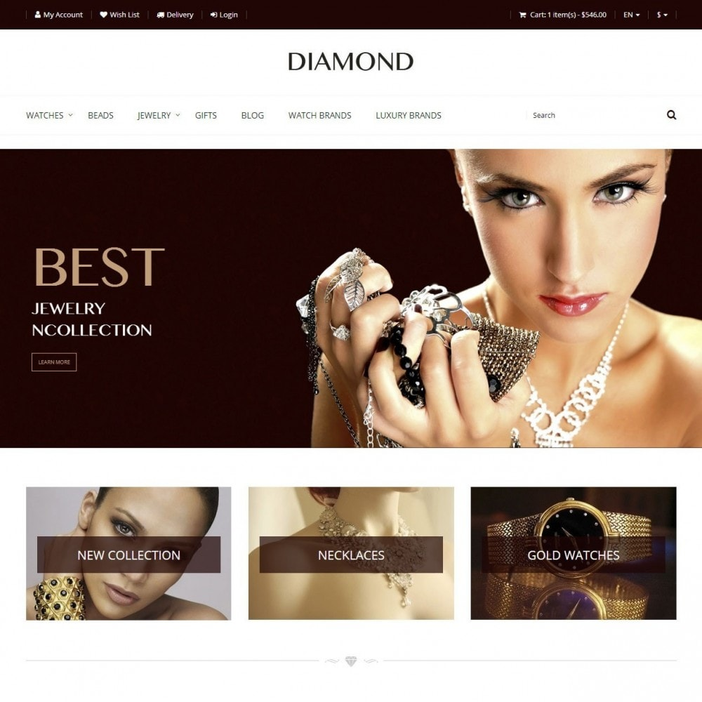 theme - Sieraden & Accessoires - Diamant - Juwelierszaak - 1
