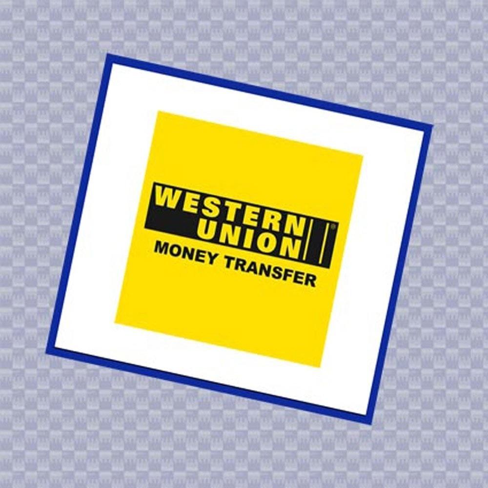 module - Autres moyens de paiement - Paiement Western Union - 1