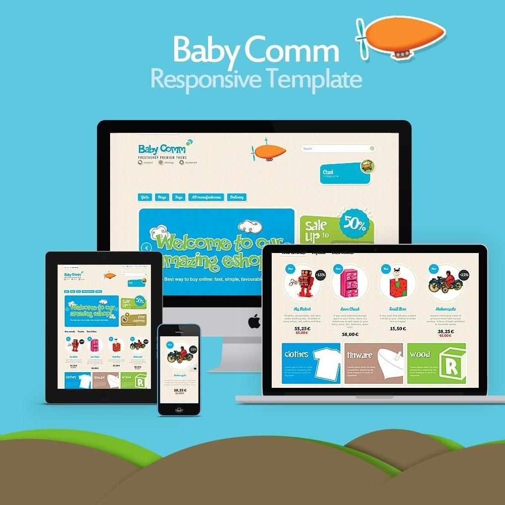 theme - Kids & Toys - Baby Comm Responsive - 1