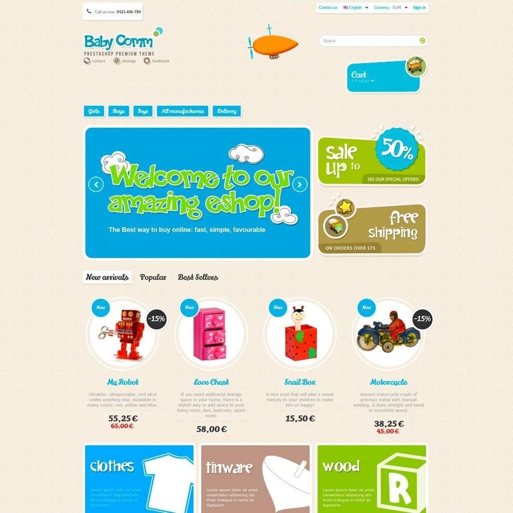 theme - Zabawki & Artykuły dziecięce - Baby Comm Responsive - 2