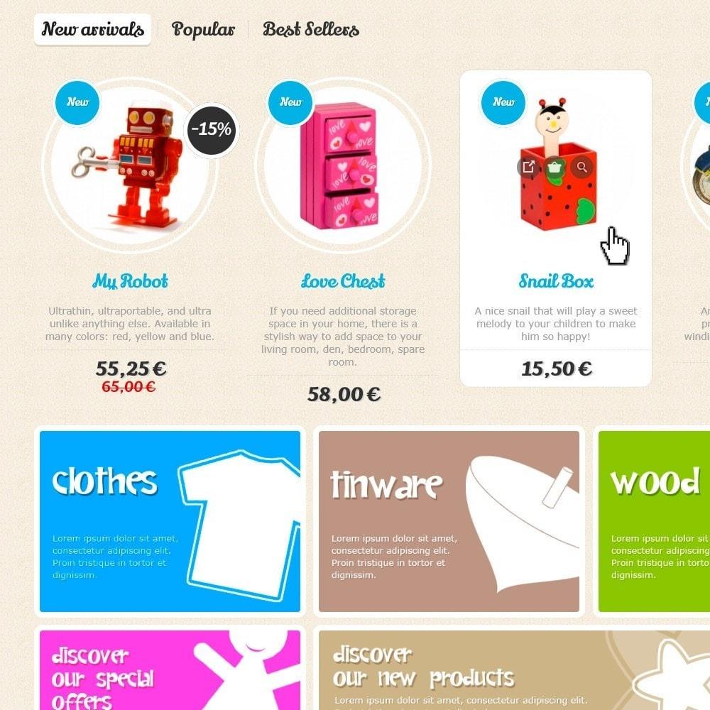 theme - Zabawki & Artykuły dziecięce - Baby Comm Responsive - 3