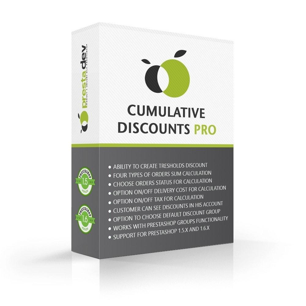 module - Promotions & Gifts - Cumulative Discounts Pro - 1