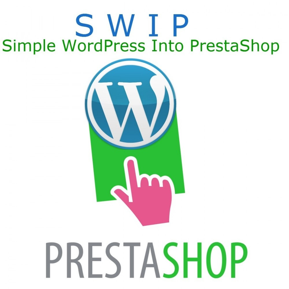 module - Blog, Forum & News - Simple Wordpress Into PrestaShop - 1