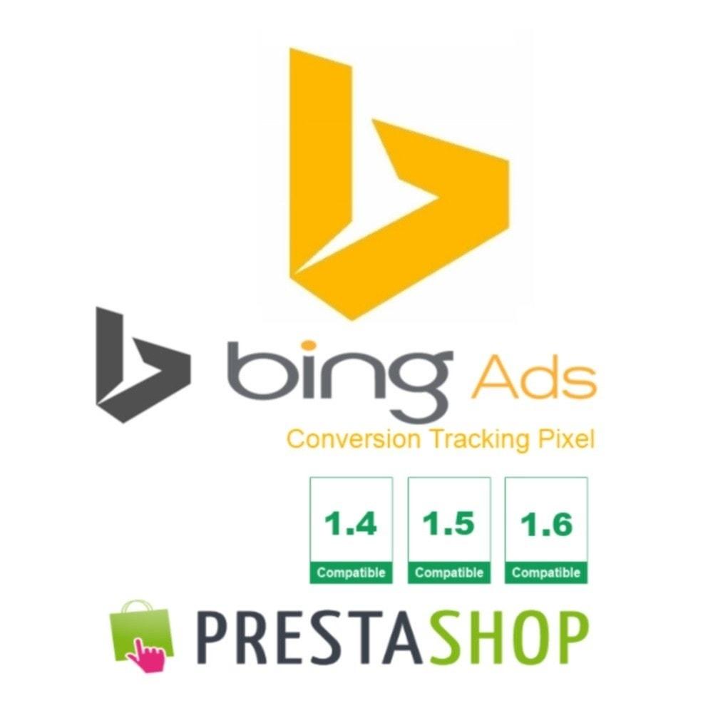 module - Analyses & Statistieken - Bing Ads Conversion Measurement (Tracking Pixel) - 1