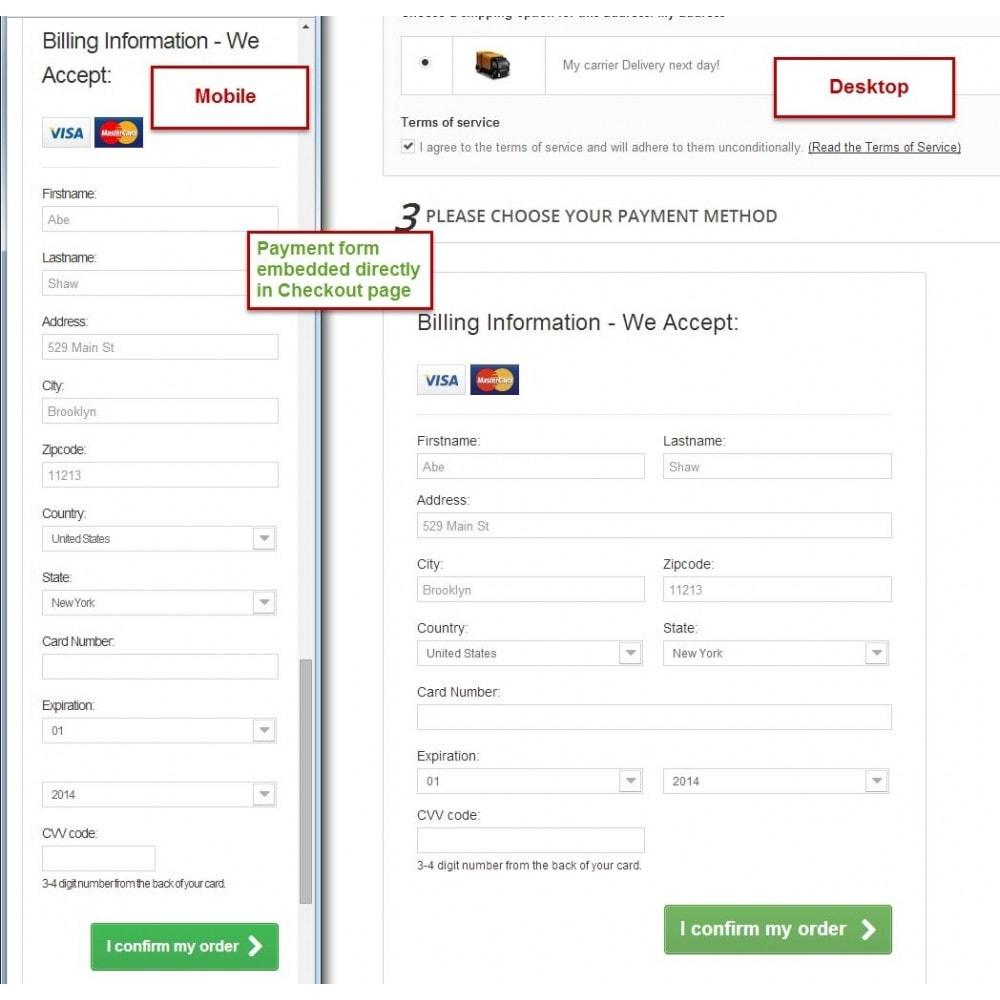 module - Paiement par Carte ou Wallet - Offline Credit Card - 1