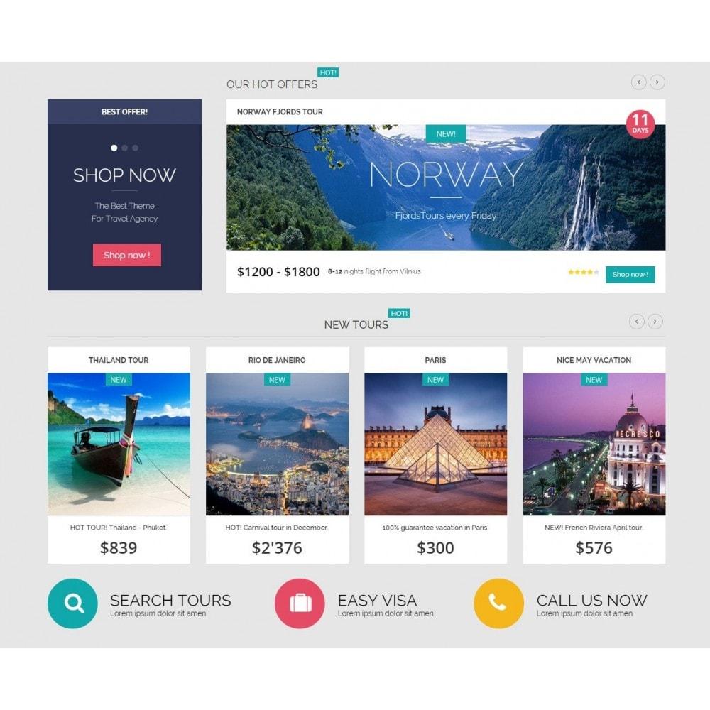 theme - Deportes, Actividades y Viajes - Traveler Prestashop 1.6 Responsive Theme - 4