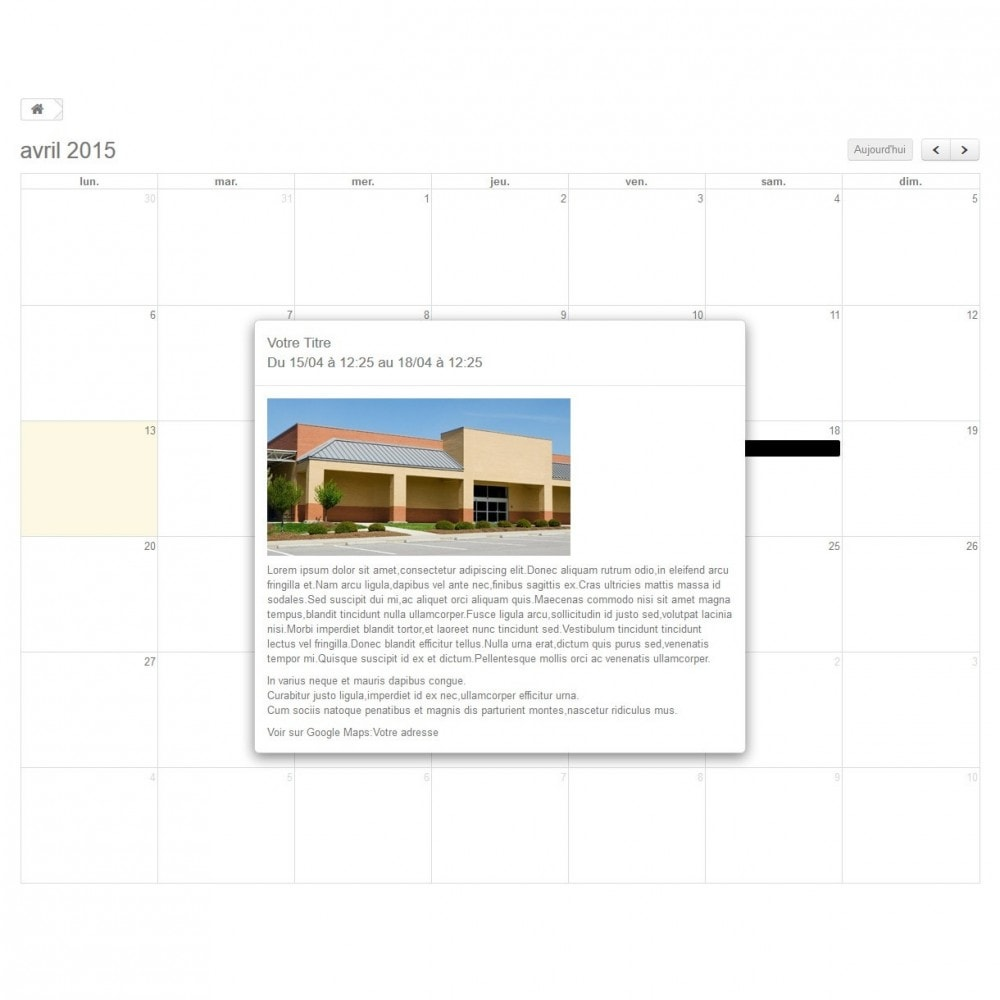 module - Blog, Forum & News - Dynamic Events Calendar - 2