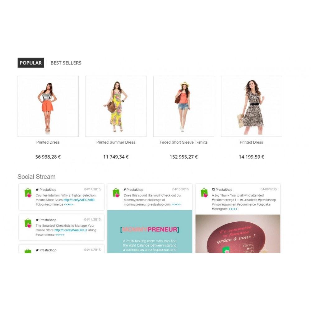 module - Widgets para redes sociales - Presta Social Stream - 2