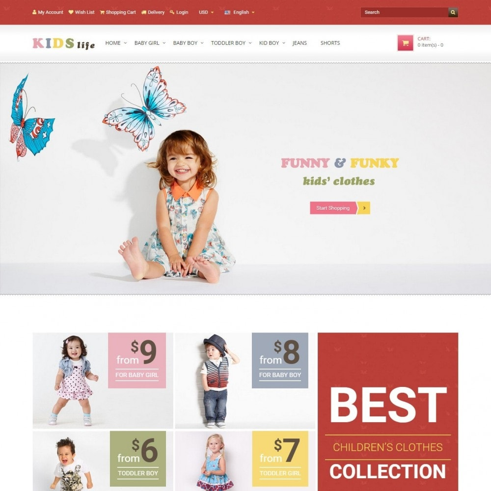 theme - Kids & Toys - Kids - Children's Clothing Store - 1