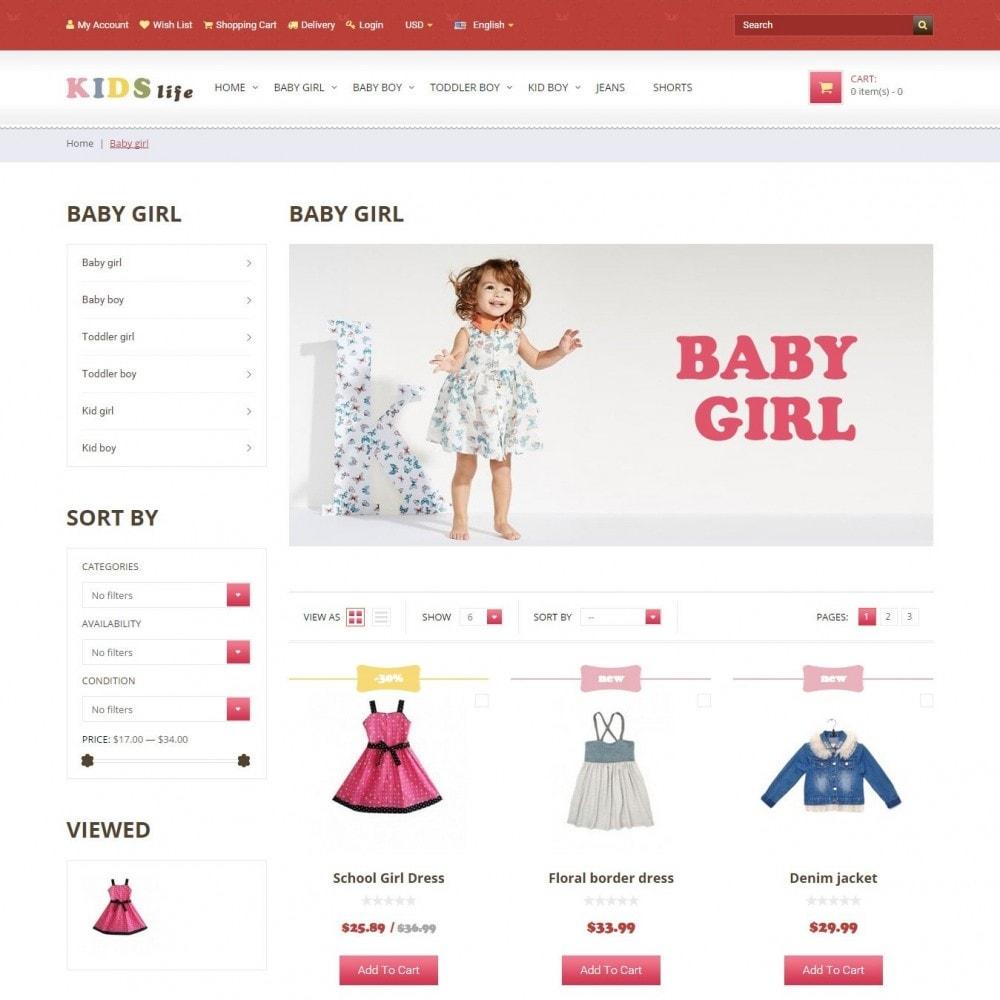 theme - Дети и Игрушки - Kids - Магазина Детской Одежды - 3