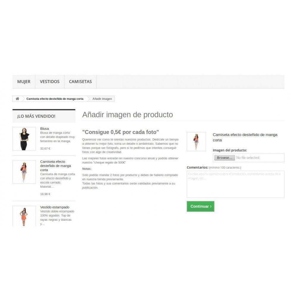 module - Programa de Fidelidad - Fotos personales de producto subidas por clientes - 1
