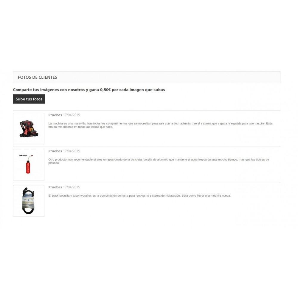 module - Programa de Fidelidad - Fotos personales de producto subidas por clientes - 4