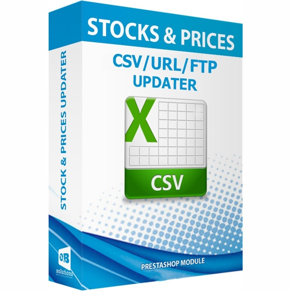 module - Edition rapide & Edition de masse - Stock and prices updater via CSV / URL / FTP + Alerts - 1