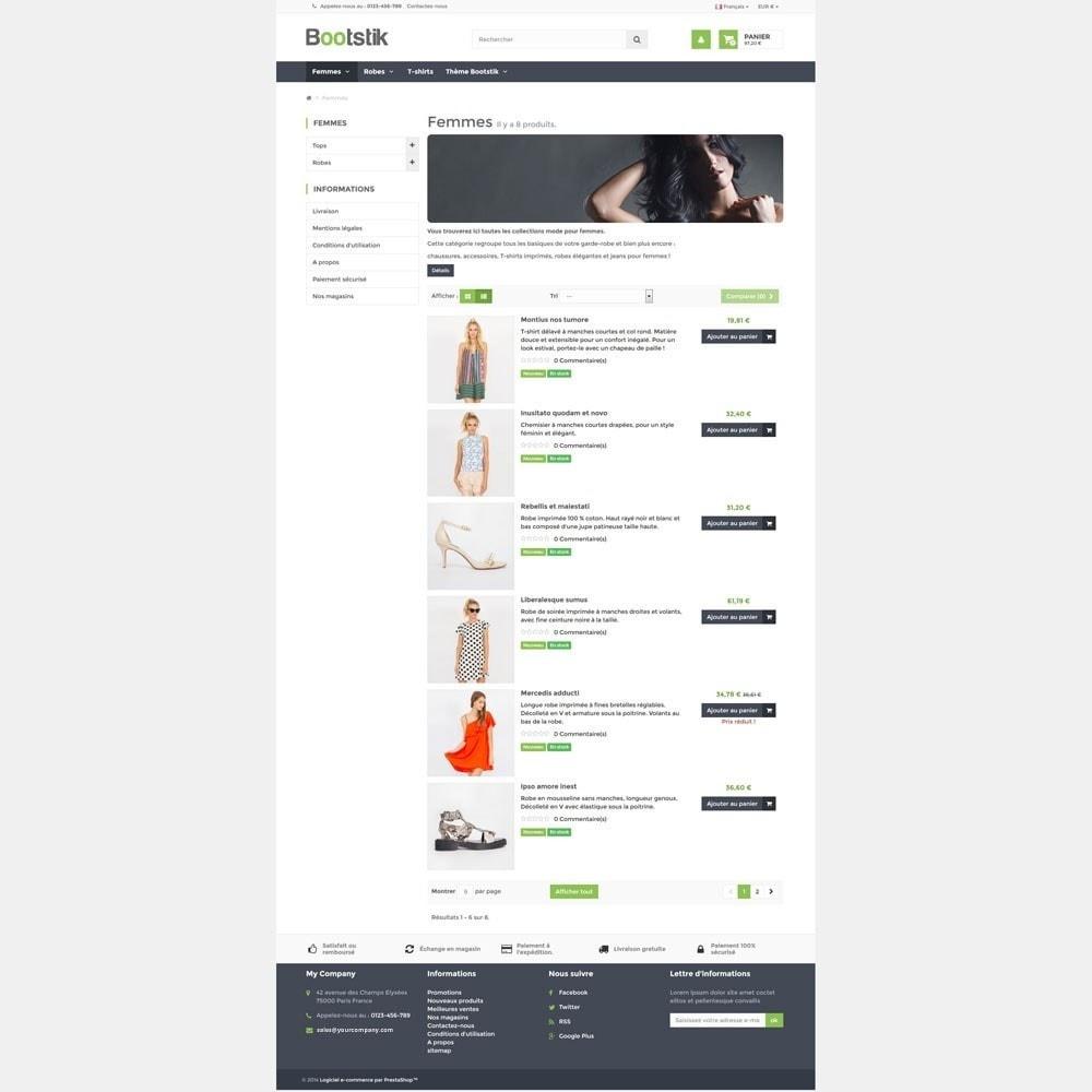 theme - Moda & Calzature - Bootstik Responsive Theme - 4