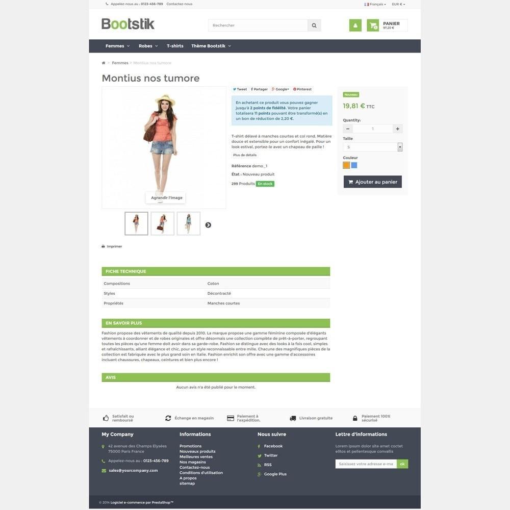 theme - Moda y Calzado - Bootstik Responsive Theme - 5