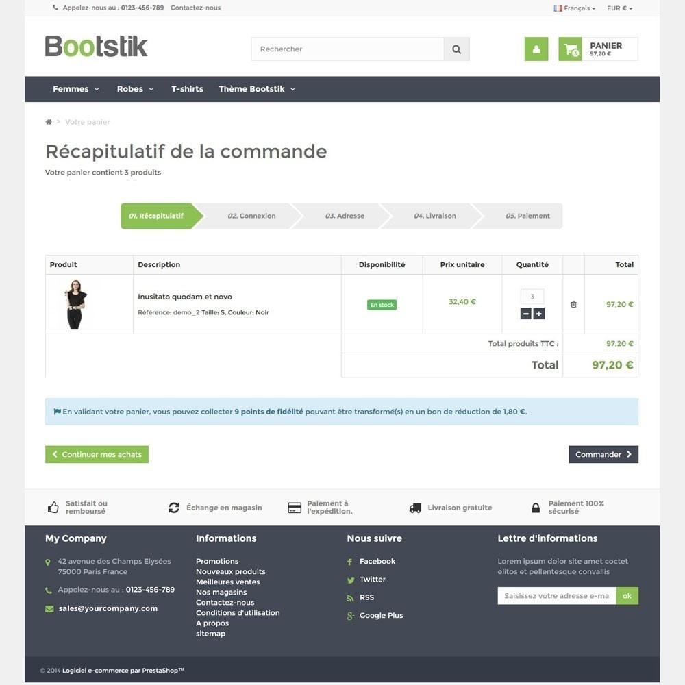 theme - Moda y Calzado - Bootstik Responsive Theme - 6