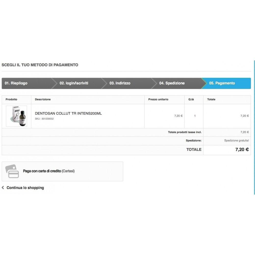 module - Pago con Tarjeta o Carteras digitales - Cartasi Nexi + fee - 4
