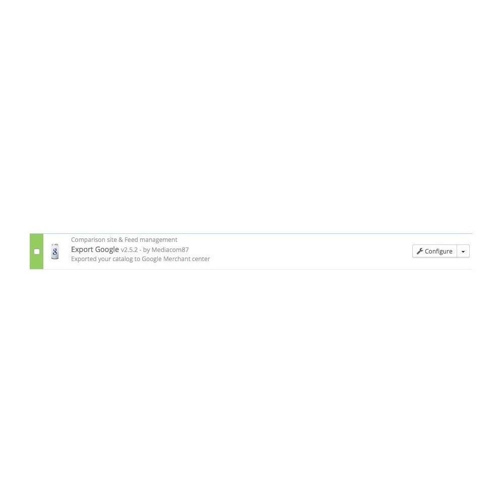 module - Płatne pozycjonowanie & Afiliacja - Google Shopping Export (Google Merchant Center) - 2