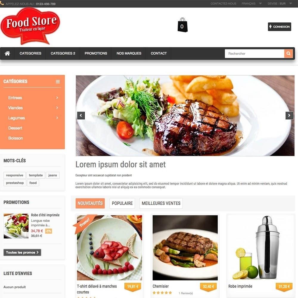 theme - Gastronomía y Restauración - FoodStore - 6