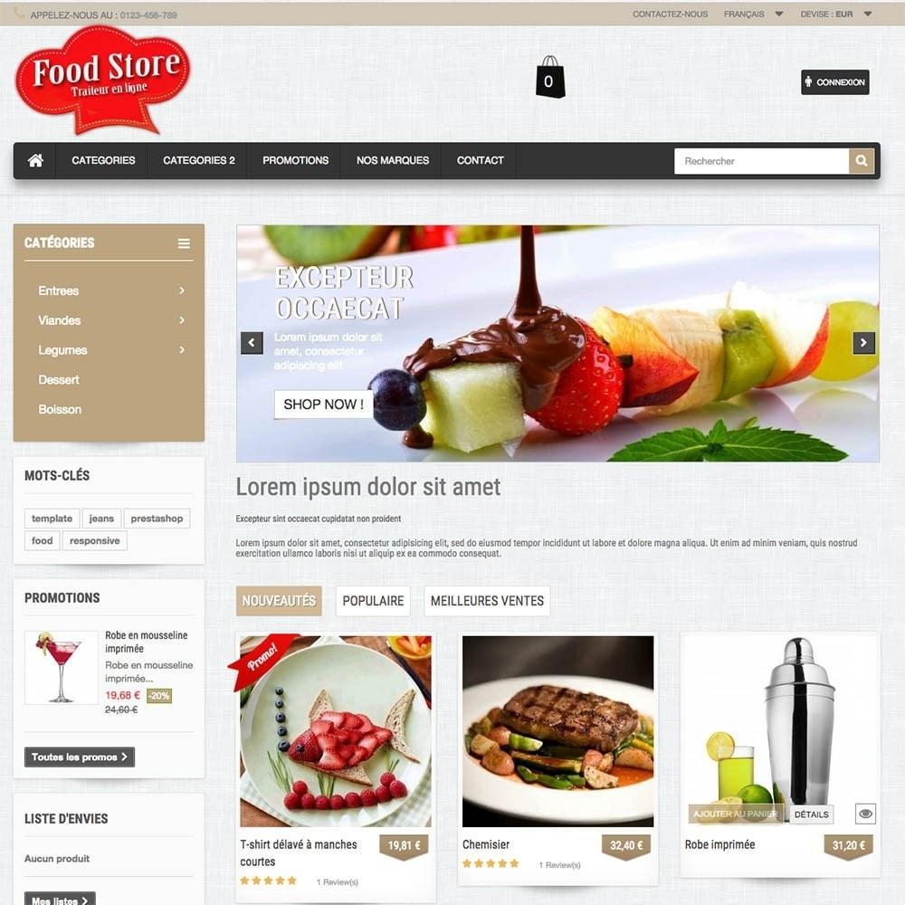 theme - Gastronomía y Restauración - FoodStore - 8
