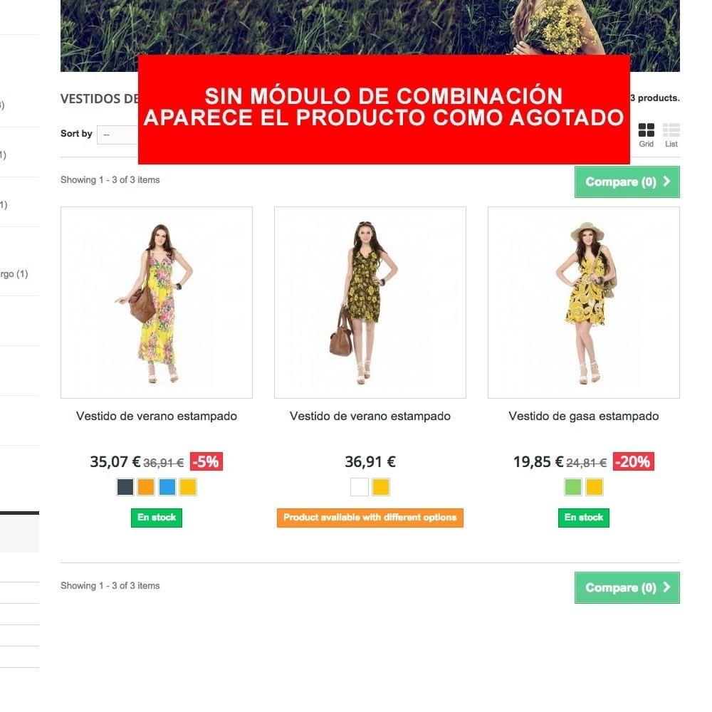 module - Combinaciones y Personalización de productos - Combinación por defecto siempre activa - 3