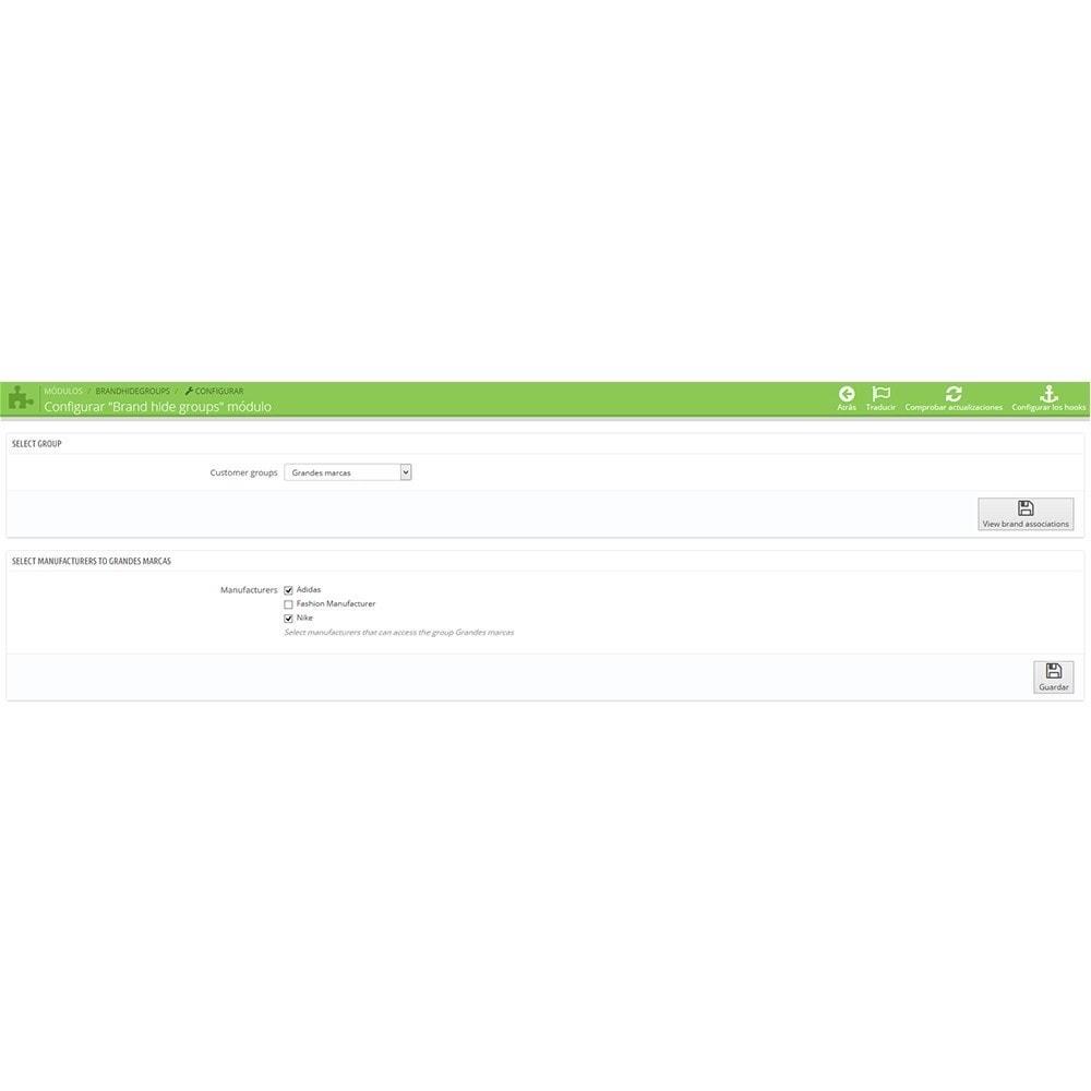 module - Управления учетными записями клиентов - Brand Hide Group - 3
