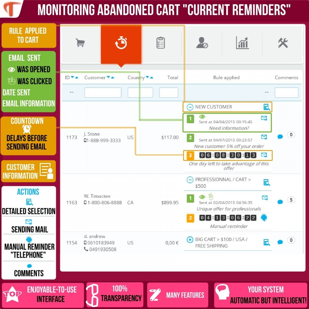 module - Remarketing & Compras abandonados - Smart Cart Reminder - 4