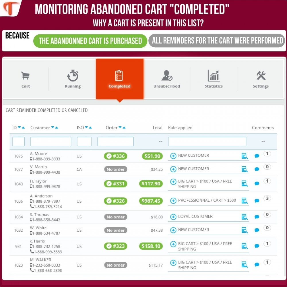module - Remarketing & Compras abandonados - Smart Cart Reminder - 6