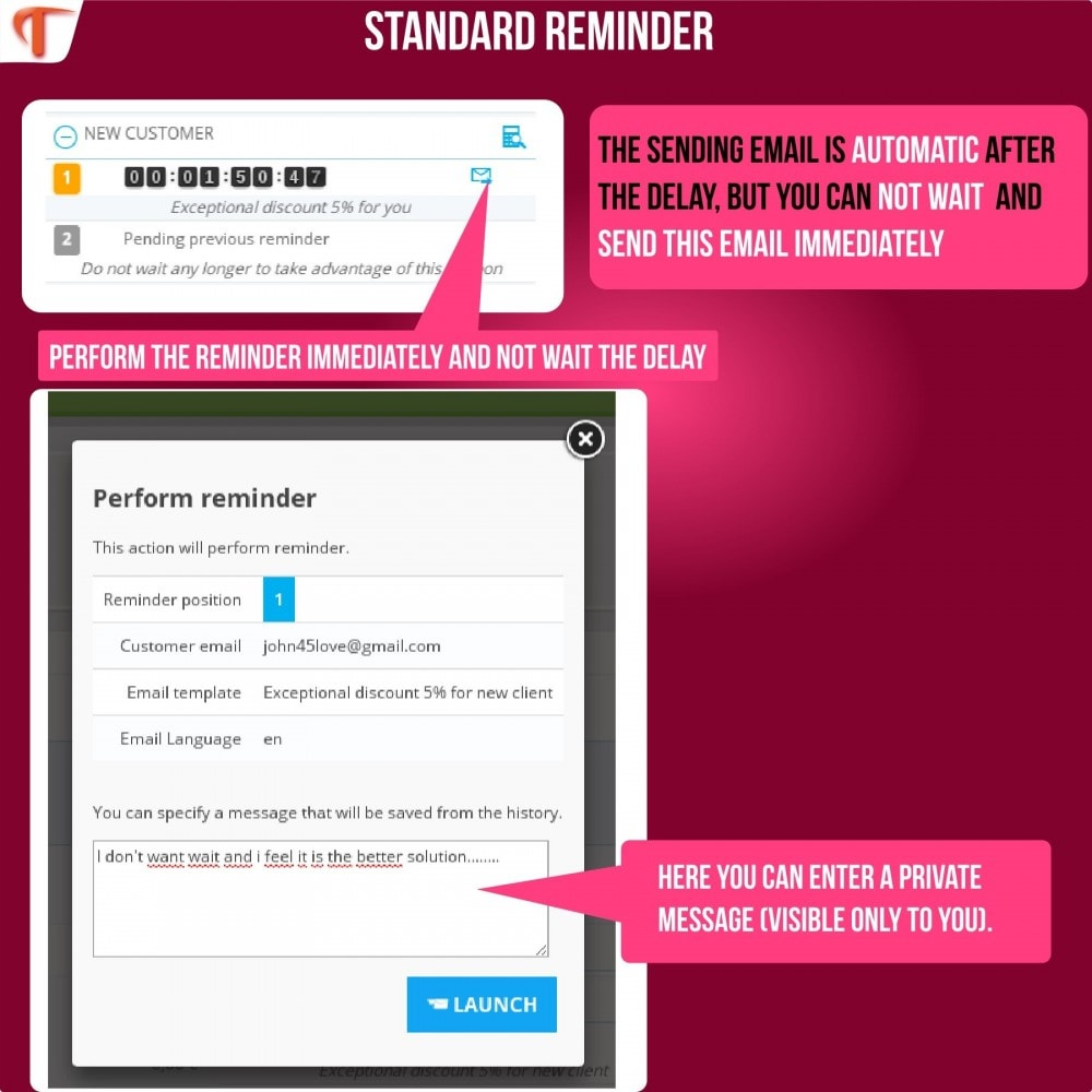 module - Remarketing & Compras abandonados - Smart Cart Reminder - 12