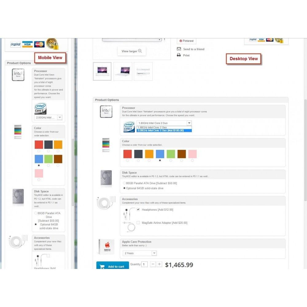 module - Diversificação & Personalização de Produtos - Attribute Wizard - 3