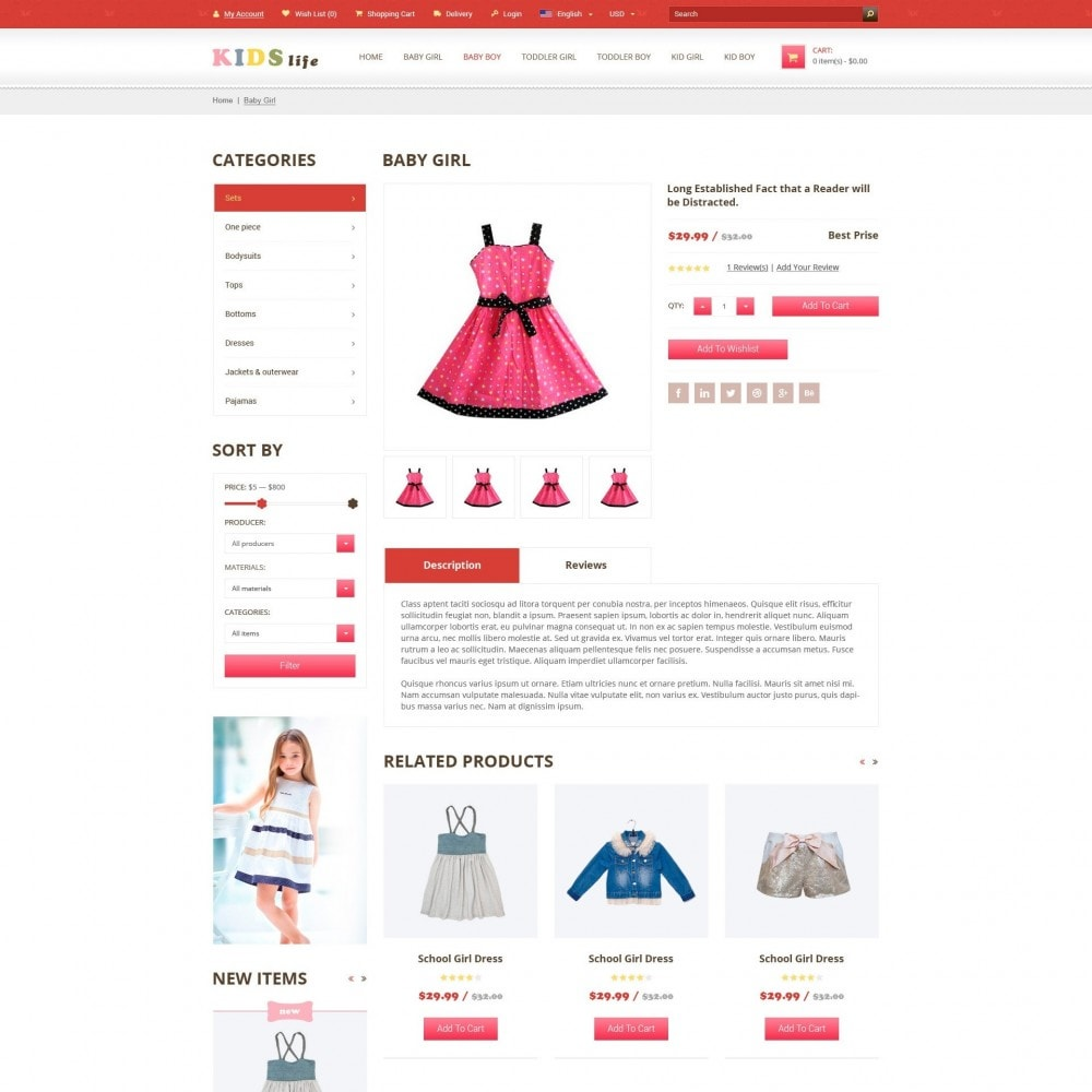 theme - Enfants & Jouets - Kids - Magasin de Vêtements Pour Enfants - 4