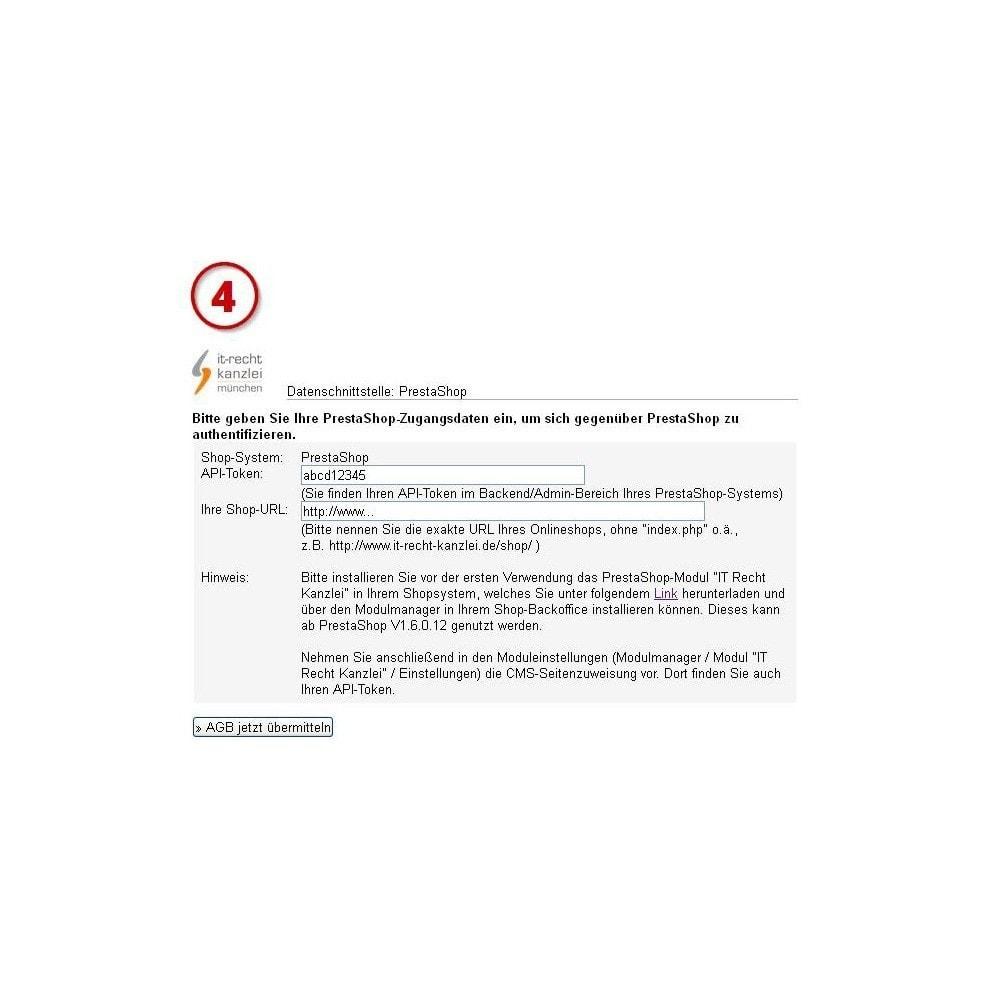 module - Rechtssicherheit - IT-Recht Kanzlei AGB-Schnittstellen Service - 3