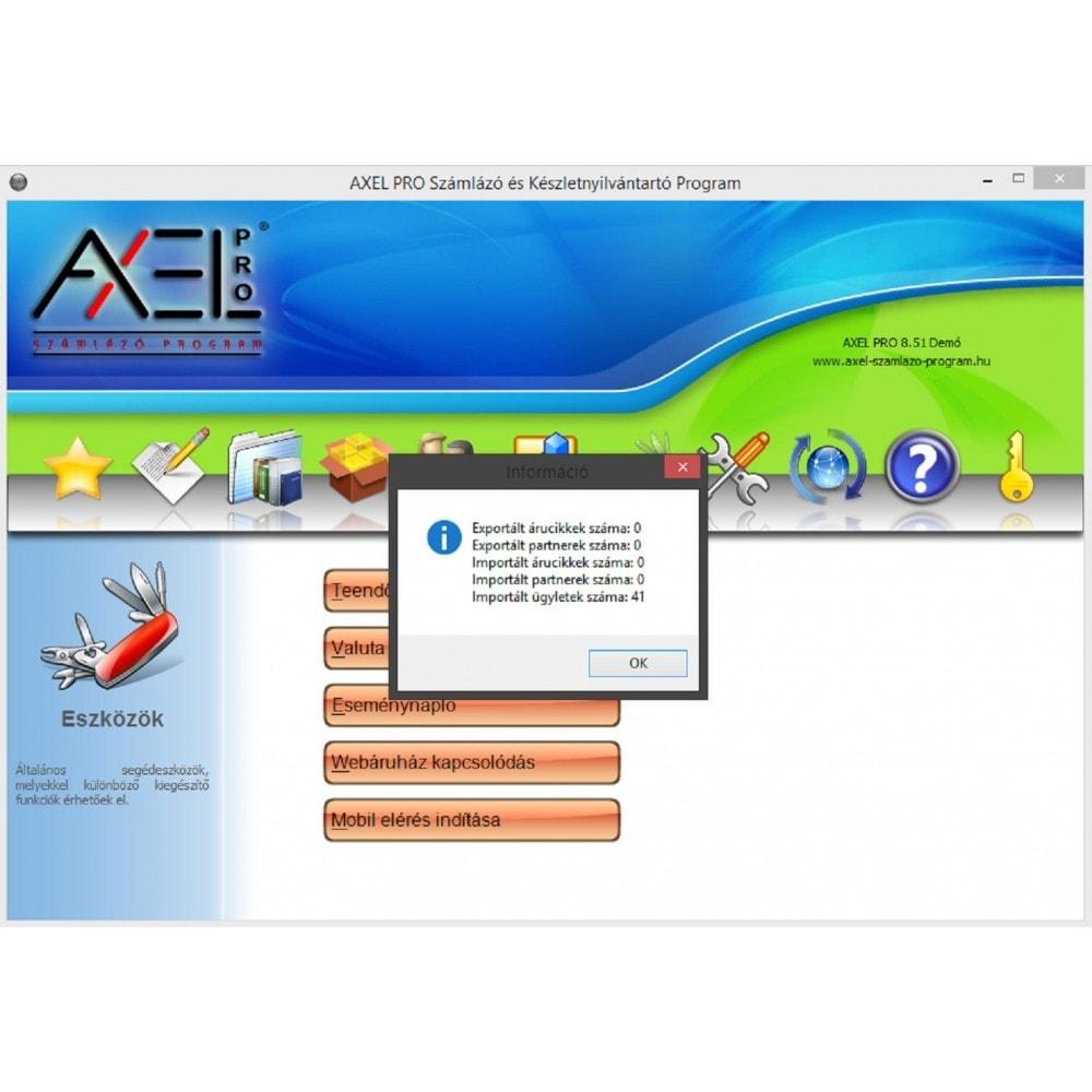 module - Księgowość & Fakturowania - AxelPro OrderExport - 2