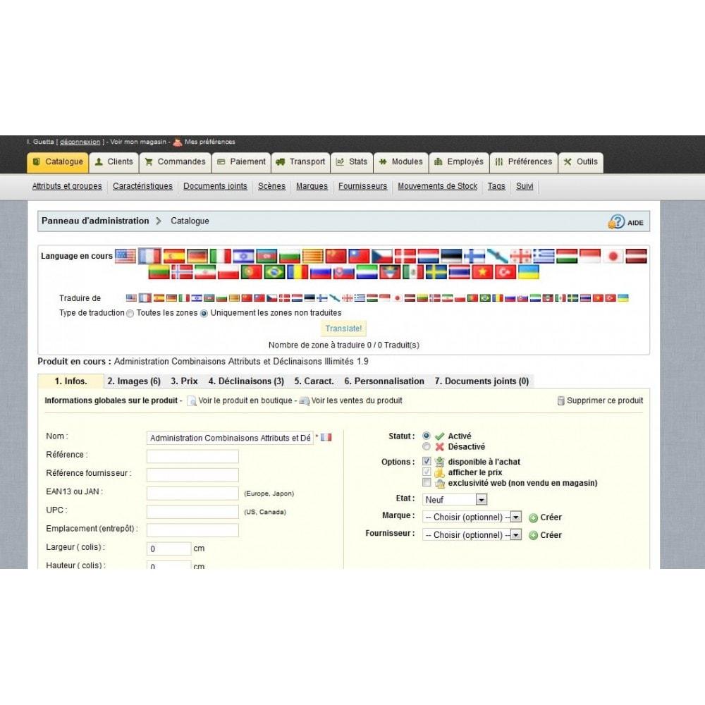 module - Internationalisierung & Lokalisierung - Translate all - 3