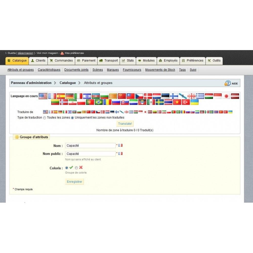 module - Internationalisierung & Lokalisierung - Translate all - 4