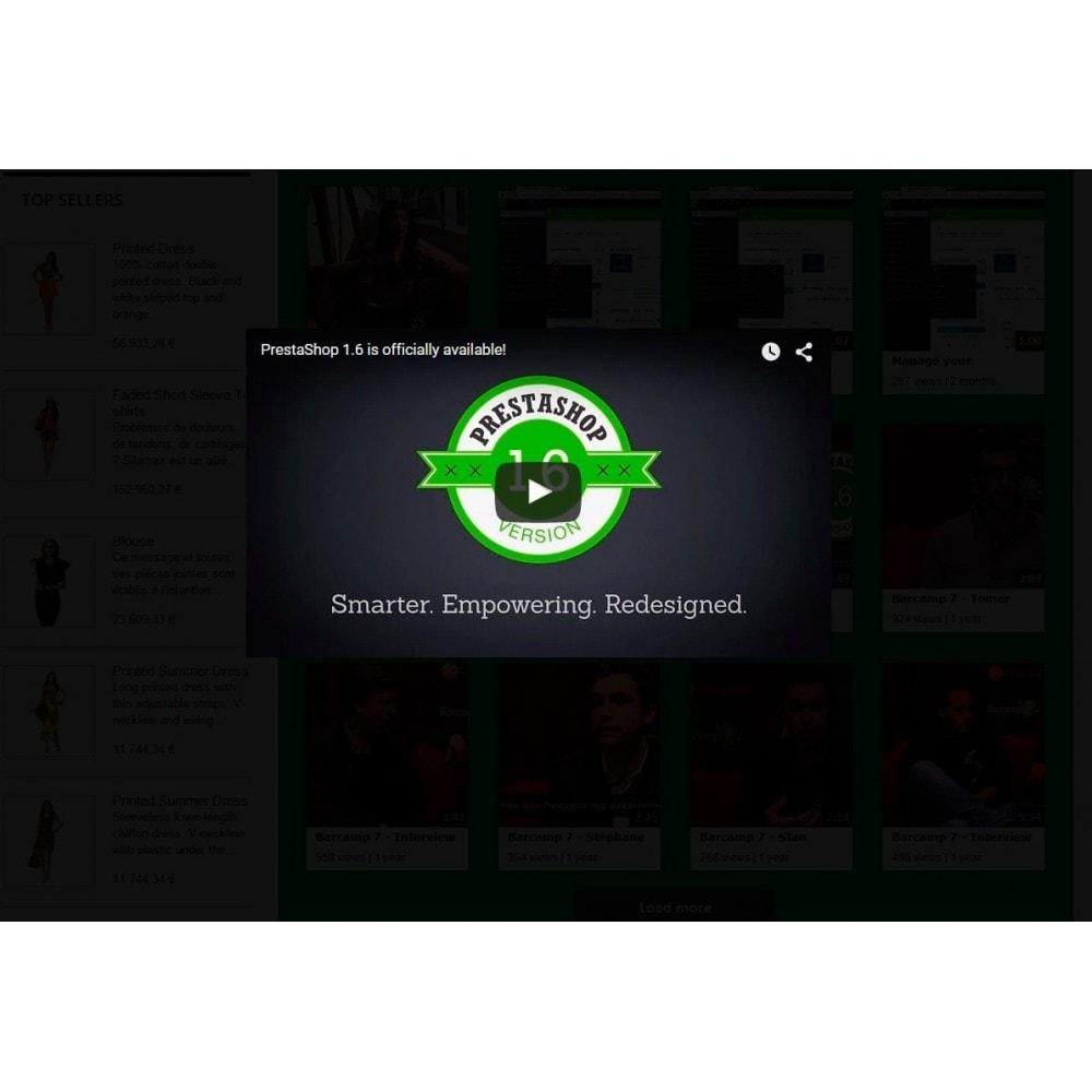 module - Widgets para redes sociales - Youtube Wall - 8