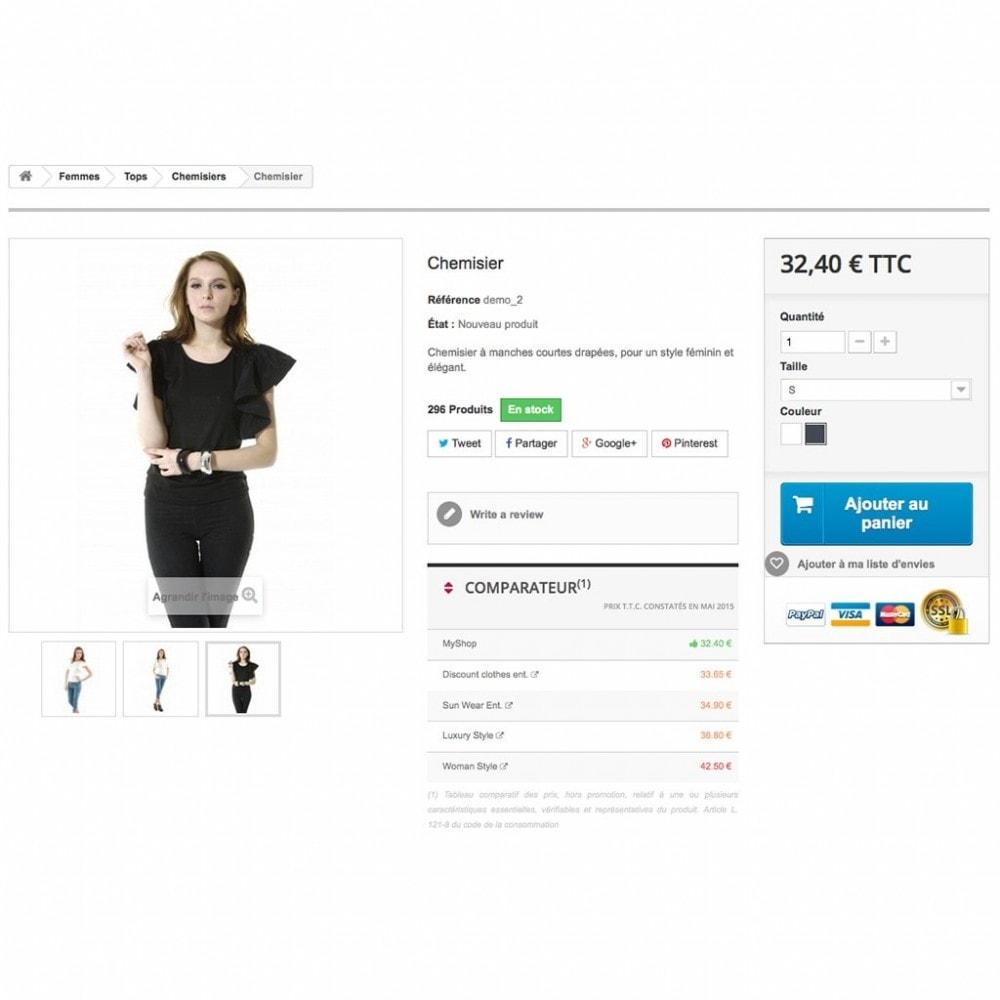 module - Comparadores de preços - Price comparison / CompetitorsPrices - 5
